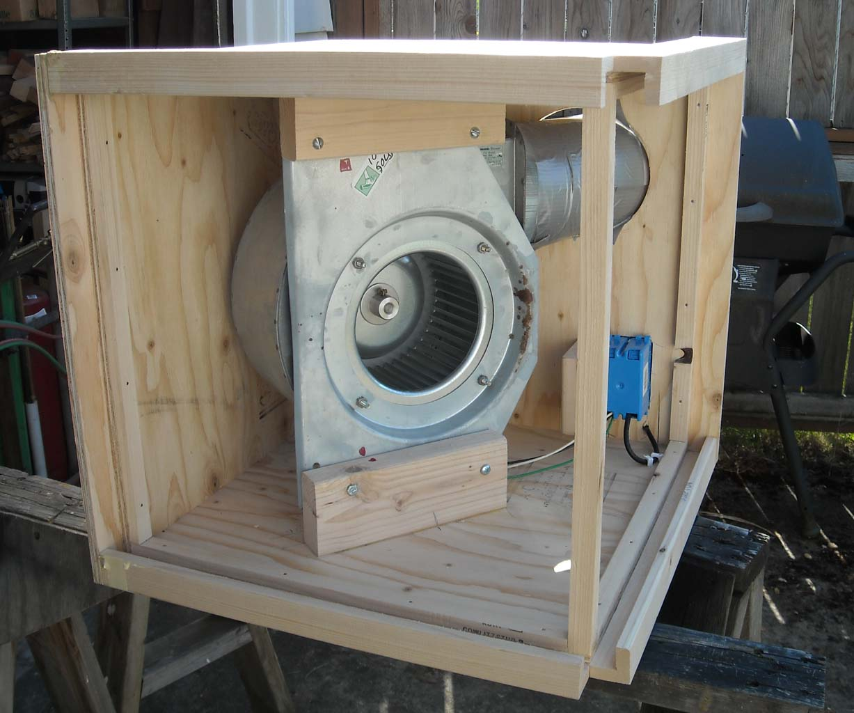 Project Notes Dust Control Shop Air Filter