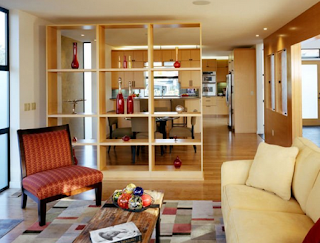 7 inspirasi sekat ruangan untuk rumah mungil - 2 dekorasi
