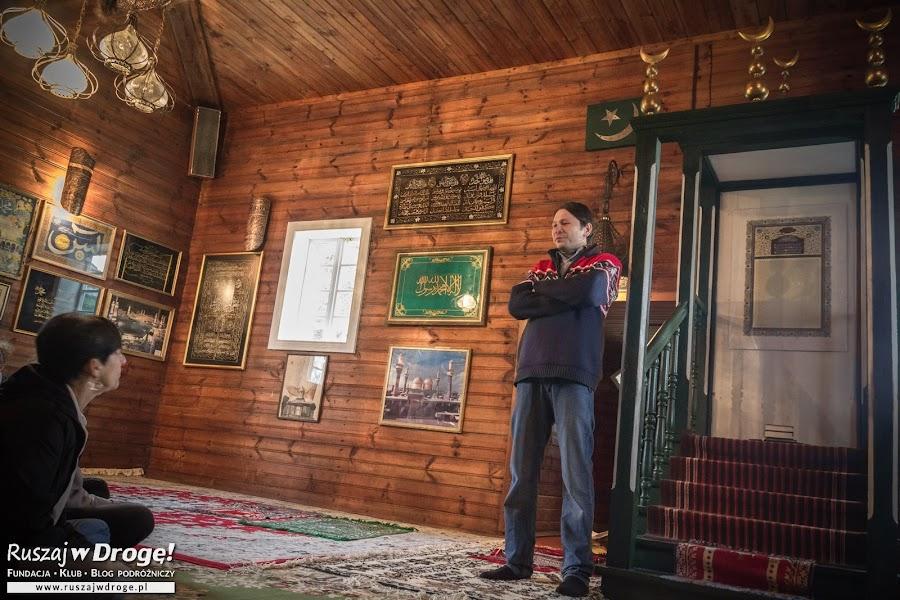 Meczet w Kruszynianach - Dżamil opowiada historie