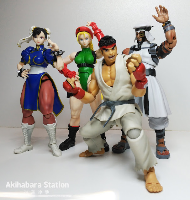 "S.H.Figuarts ""Cammy"" y ""Rashid"" de Street Fighter - Tamashii Nations"