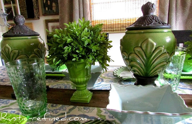 Summer Greens & Blues @ Rustic-refined.com