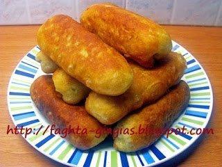 Ποντιακά πιροσκί (περεσκία) με πατάτα ή Πισία