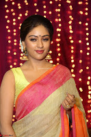 Anu Emmanuel sizzles in khaki saree at Zee Telugu Apsara Awards 2017 10.JPG