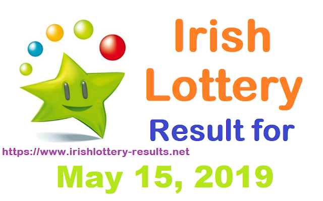Irish Lottery Result for Wednesday, May 15, 2019