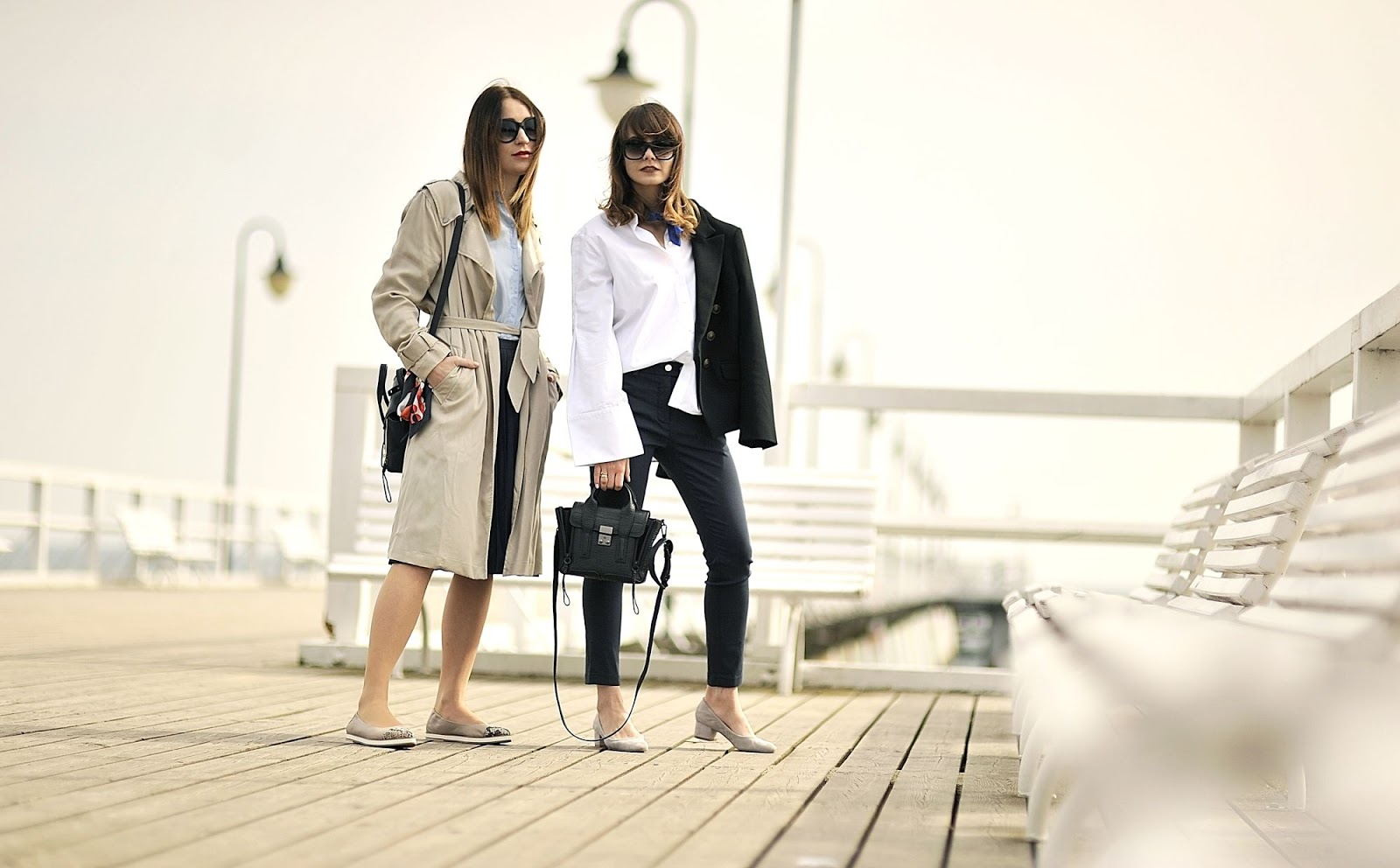 blogerki | blogi modowe | stylizacje z biala koszula