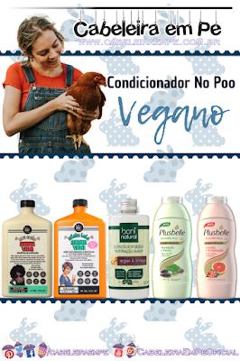 Condicionadores liberados para Low Poo e No Poo (Lola, Boni Natural e Plusbelle) - Cosméticos Veganos Baratos