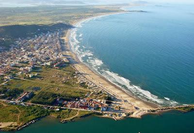 Vista aérea de Laguna – SC