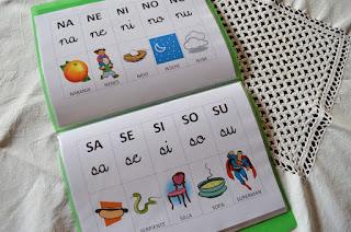 Hermoso silabario para descargar en Word 1