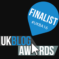 We are FINALISTS in the UK Blog Awards!
