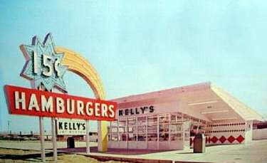 brady 39 s lorain county nostalgia kelly 39 s jet system hamburgers 1963. Black Bedroom Furniture Sets. Home Design Ideas