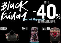 Logo Black Friday Desigual : sconto fino al -40% su tutta la collezione, spedizione e resi gratuiti!