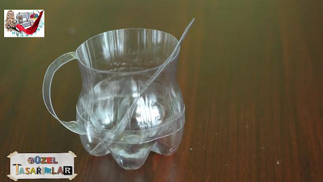 Pet (Plastik) Şişeden Kulplu Bardak Yapımı