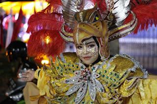 Model Pengiring Garuda Karya Karang Taruna Desa Losari