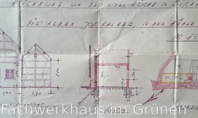 Baugenehmigung von 1938