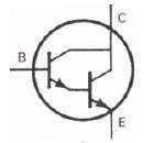 Transistor Symbol - Darlington NPN