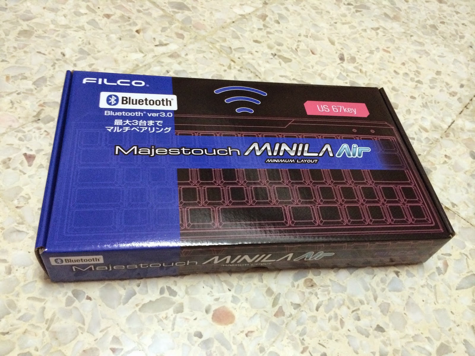 Unboxing & Review: Filco Majestouch Minila Air 36