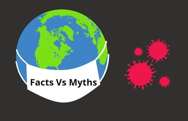 Myths Vs Facts about corona virus