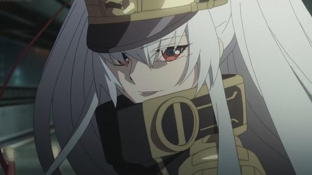 Identidade da Princesa de Uniforme Militar de Re:Creators