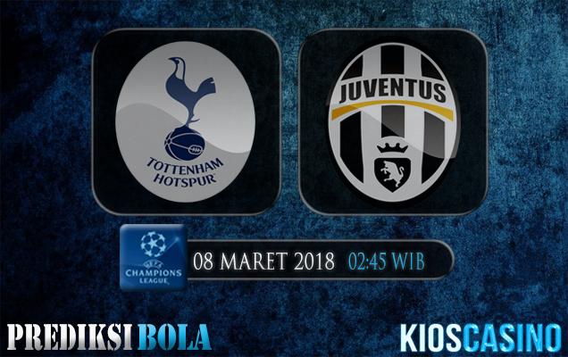 Prediksi Skor Tottenham Hotspur vs Juventus 08 Maret 2018