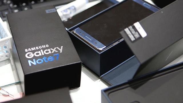 """Samsung anuncia el regreso al mercado de su """"explosivo"""" Galaxy Note 7"""