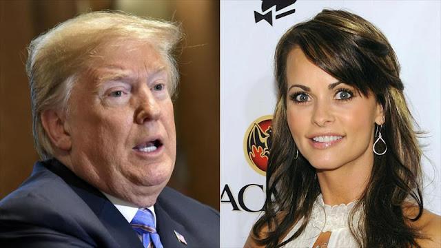Cohen grabó a Trump discutiendo pago a exmodelo de revista erótica