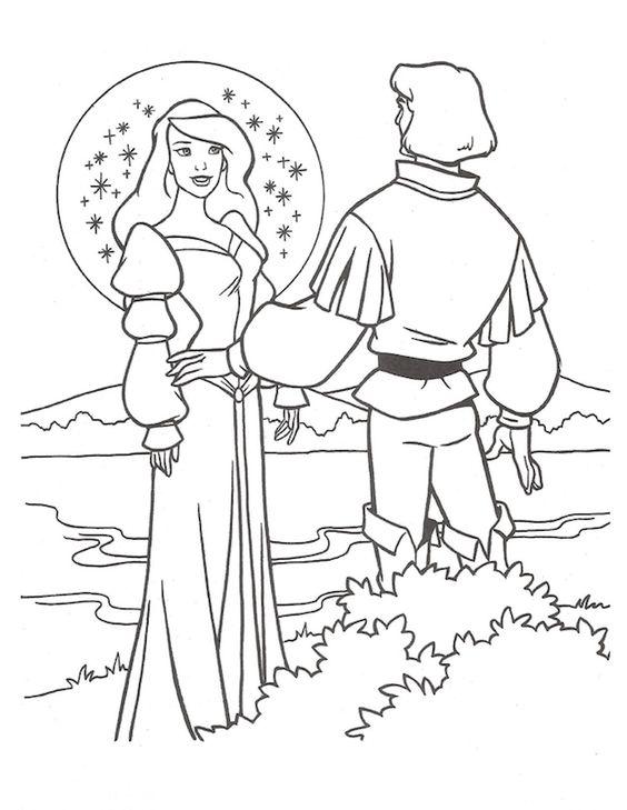 Tranh tô màu công chúa thiên nga 0