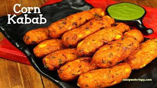 Corn Kebabs