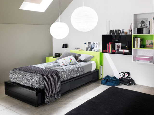 Modern Functional and Stylish Bedroom Furniture Modern Functional and Stylish Bedroom Furniture Modern Design Solution For Teens Room 2