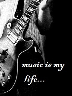 Attitude Girl With Guitar Wallpapers Music Is My Life Mobile Wallpaper Mobile Wallpapers
