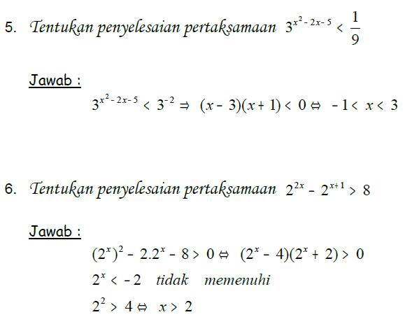 Pada kesempatan kali ini 4soalmatematika berbagi latihan soal persamaan  eksponen dan pembahasannya. Berikut dibawah ini adalah latihan soal  persamaan ... 95d64b39ab