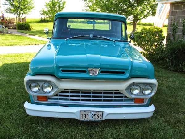 1967 Ford F250 For Sale Craigslist >> Custom 1960 Ford F100 Stepside   Auto Restorationice