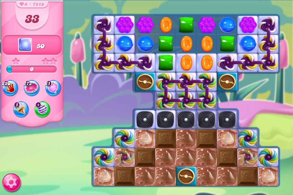 Candy Crush Saga level 7513