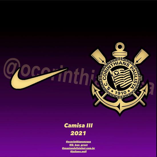 First Nike 2021 22 Kit Info   Corinthians 21 22 Third Kit Info