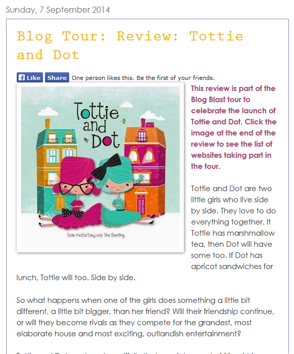 http://www.kids-bookreview.com/2014/09/blog-tour-review-tottie-and-dot.html
