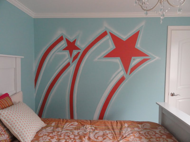 Girls Star Bedroom