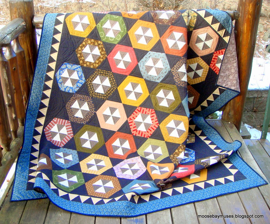 Fall Out Shelter quilt