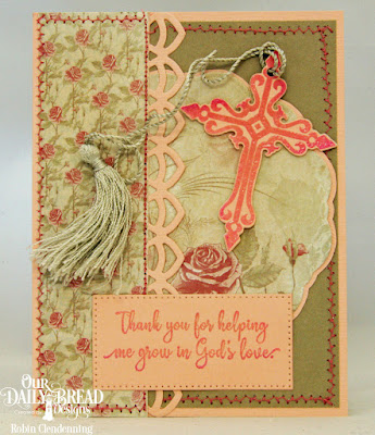 Sunday School Teacher, Crosses, Doily, Deco Border, Shabby Rose Collection