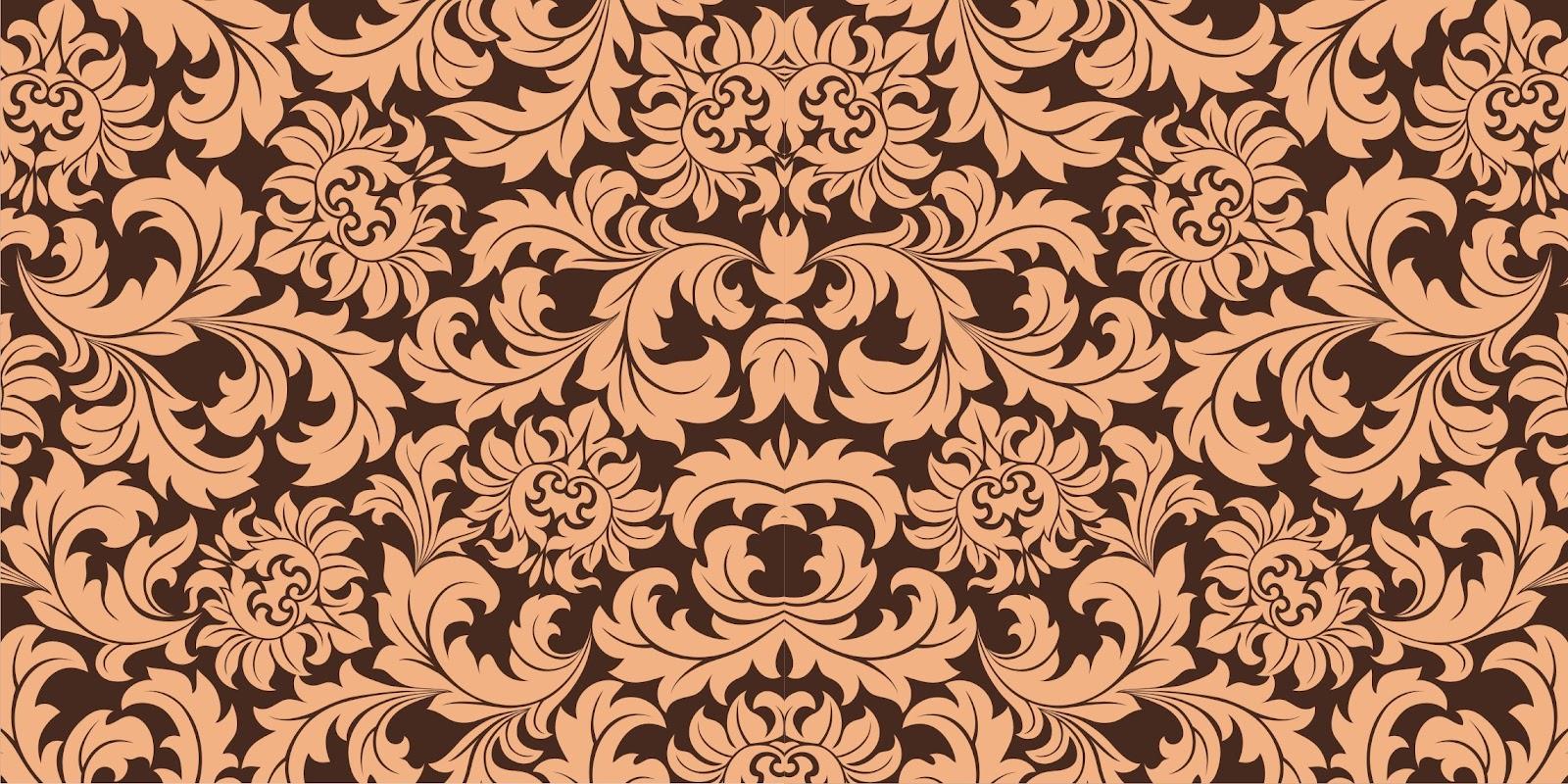 Indonesian Abstrak Batik: Free DOWNLOAD Vector