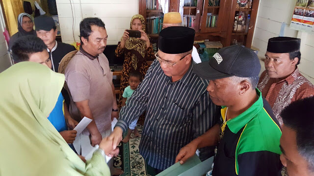 Korban Kebakaran dan Longsor di Aceh Tengah Terima Bantuan