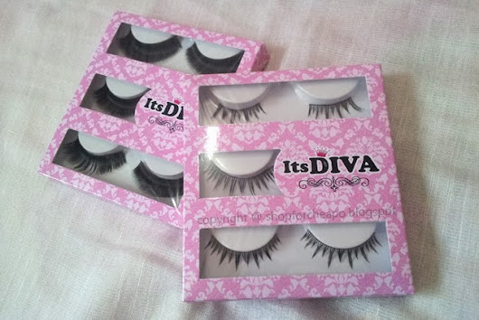 Its Diva Lashes #84 & #87 Review