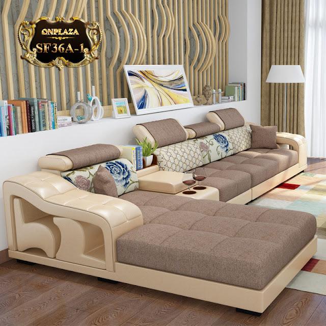 Ghế sofa họa tiết cao cấp cho phòng khách SF36