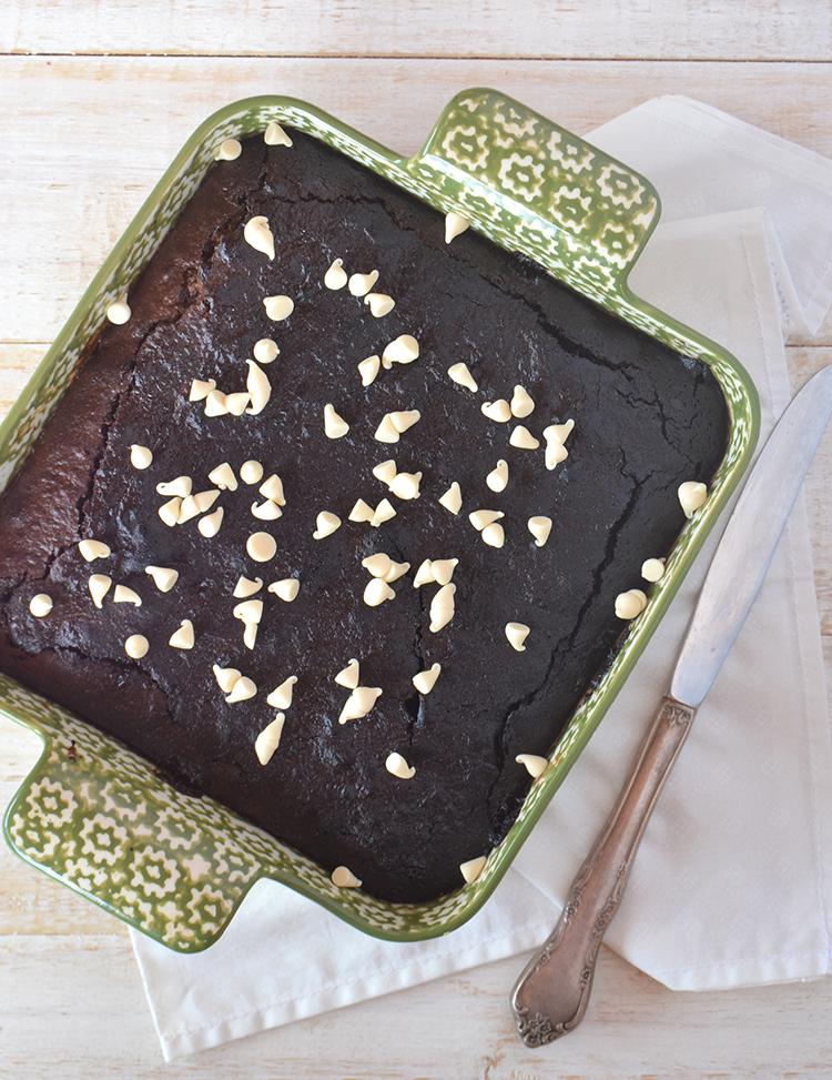 Brownies con azúcar negra