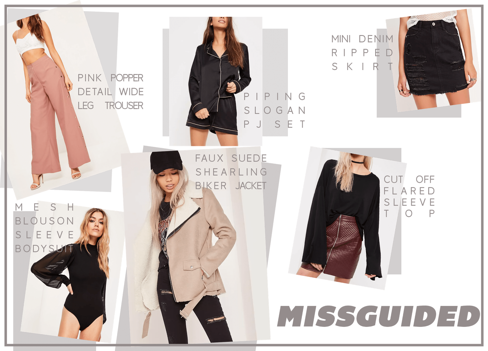 missguided clothing wishlist january uk fashion blogger