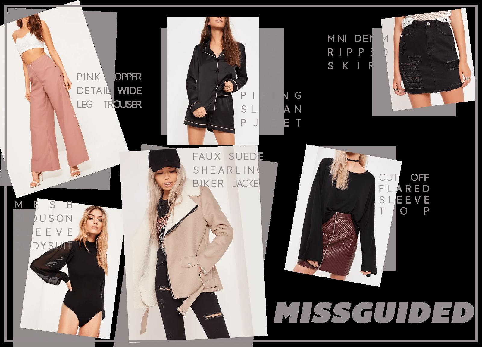 missguided clothing wishlist january uk fashion blogger