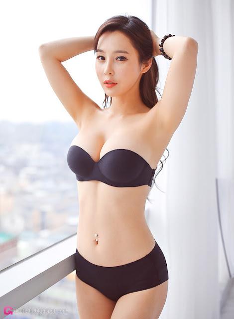 4 Lee Ji Na - lingerie collection - very cute asian girl-girlcute4u.blogspot.com