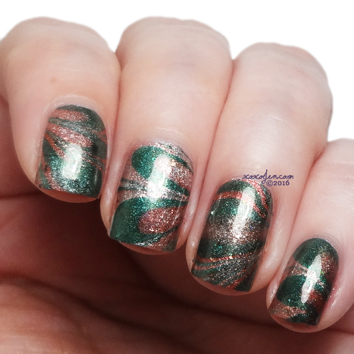 xoxoJen's swatch of Lou It Yourself watermarble