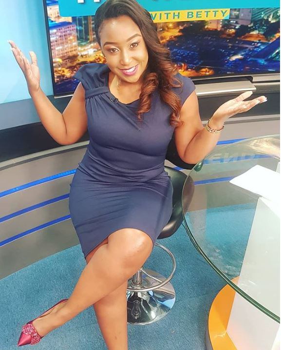 Miguu Za Betty Kyallo Zinanimaliza, Thirsty Fan Admits