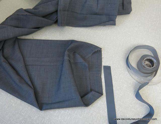 técnica de costura para bastillas