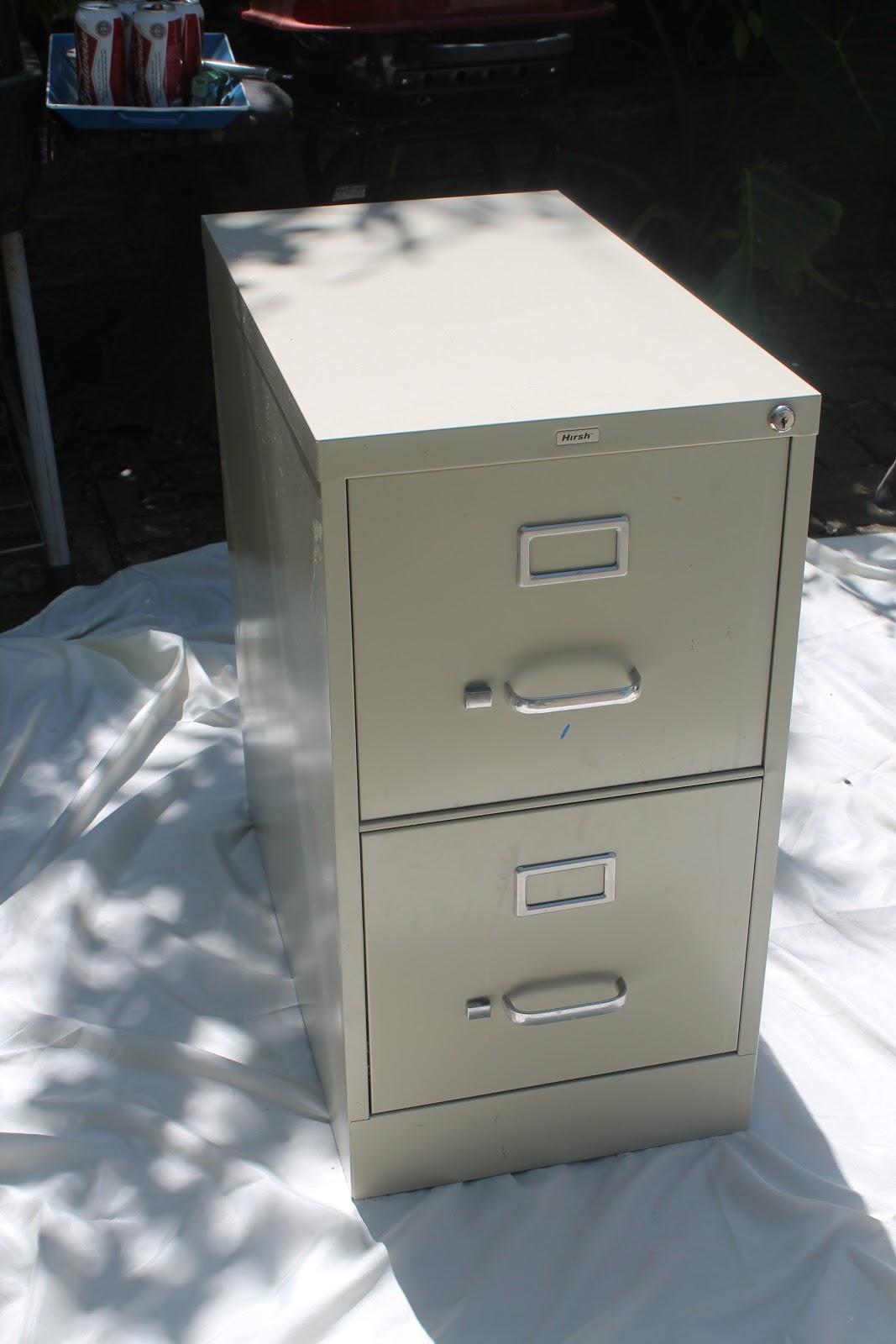 Boho in a Shotgun: File Cabinet Redo