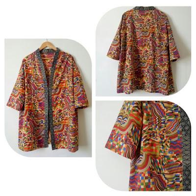 Bauhaus Kimono by Ivy Arch